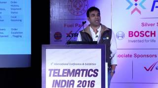 Swadesh Srivastava, Director Automation Design, Flipkart - Telematics India 2016