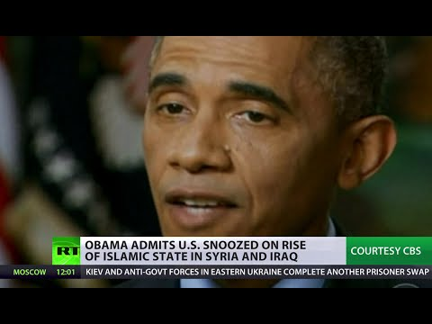 Back - Nothing more than a junior sports team, that is how Barack Obama viewed ISIS just 8 months ago. Now America has been forced to deploy its huge arsenal, the US president has admitted his administrat...