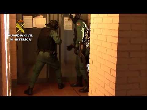 Actuación de la Guardia Civil en la Operación Somachine'