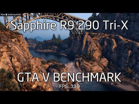 Sapphire R9 290 Tri-X - GTA V PC MAXED Benchmark