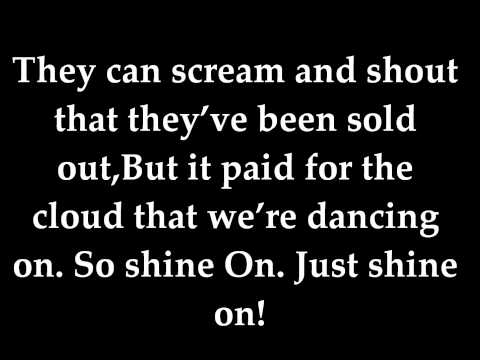 James Blunt - Shine on LYRICS