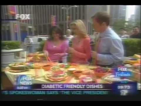 Holly Clegg's Diabetic Cooking Recipes: Fox News Mediterranean Layered Dip