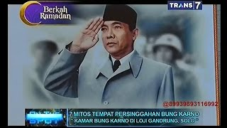 Video On The Spot - 7 Mitos Tempat Persinggahan Bung Karno MP3, 3GP, MP4, WEBM, AVI, FLV Januari 2019