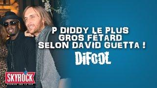 P. Diddy le plus gros fêtard selon David Guetta