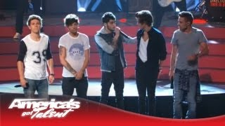 Watch: One Direction perform 'Best Song Ever' on America's Got Talent