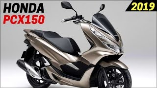 1. NEW 2019 Honda PCX150 Scooters - Announced For USA With New Design