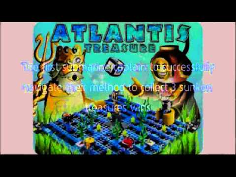 Video Newest tube of the Games Atlantis Treasure 3851