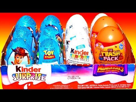 Kinder Surprise Egg Videos
