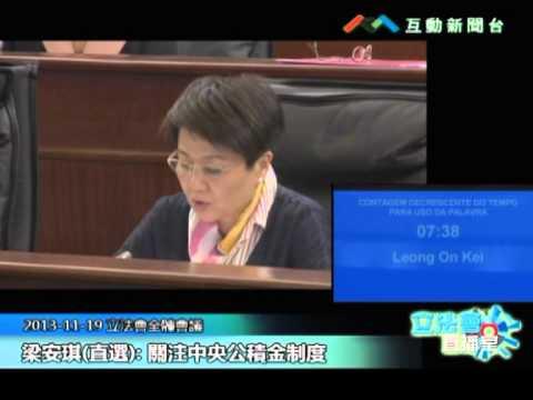 梁安琪20131119立法會議
