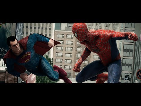 SUPERMAN VS SPIDERMAN Animated Short (DC And Marvel Comics Animation)