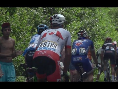 France - It was a battle or survival to make the time cut in stage 17 of the 2014 Tour de France for the ORICA-GreenEDGE boys. In this episode of Backstage Pass Simon Clarke explains how the time cut...
