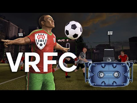 FIRST ACTUAL VR SOCCER GAME? | Virtual Reality Football Club Gameplay (HTC Vive VR)