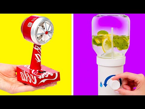 How To Reuse Soda Cans And Nutella Jar || DIY Projects From Improvised Materials