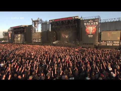 HAMMERFALL - LIVE WACKEN 2012 - FULL CONCERTHammerfall