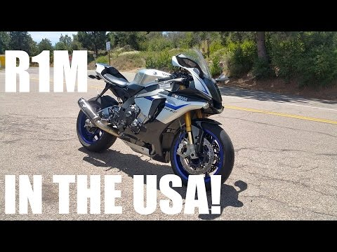 yamaha r1m test ride review in america
