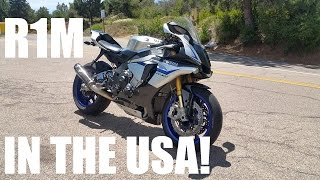 7. Yamaha R1M Test Ride Review! In America!