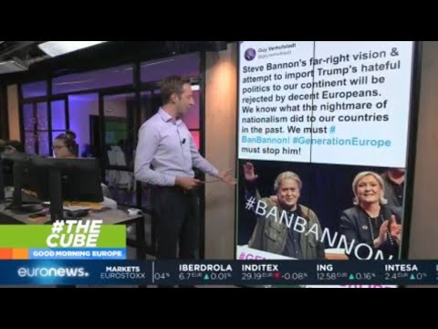 #TheCube | Steve Bannon's push for populism in Europe