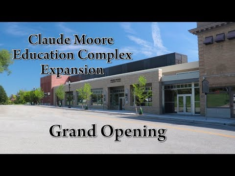 Claude Moore Education Complex Expansion Grand Opening start at 12.30