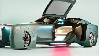 Rolls-Royce Vision INTERIOR Review Self Driving Car Rolls-Royce Vision Next 100 CARJAM 2016