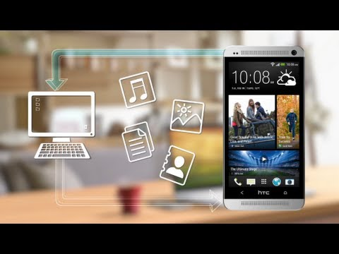 The new HTC One - Manage files between your phone and computer