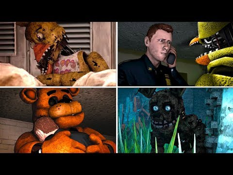 SFM FNAF: The Hidden Lore 2 - All Episodes (Five Nights at Freddy's)