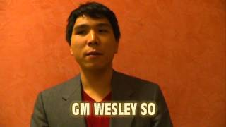 Interview with GM Wesley So