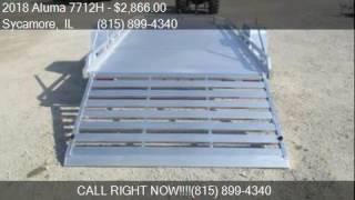 2. 2018 Aluma 7712H  for sale in Sycamore, IL 60178 at Rondo Tr