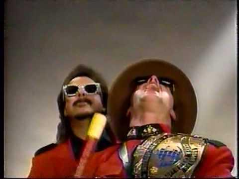 WWF Royal Rumble '92 Promo: Mountie vs. Piper (видео)