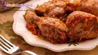 Chicken Cacciatore - Italian Recipe