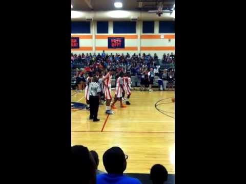 Charles Patterson Middle School Dunking For Fun
