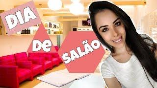 Vlog: Dia de salão