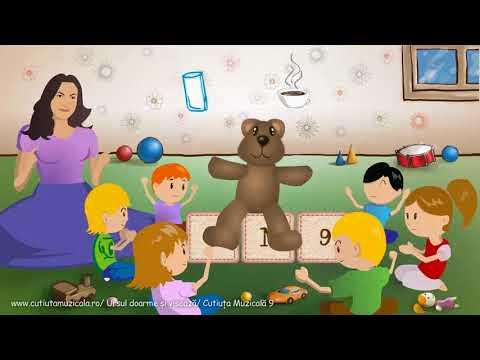 Cutiuta Muzicala - Ursul doarme si viseaza (Animatie)