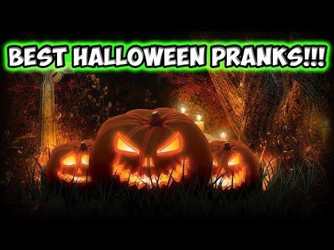 Halloween Pranks Montage