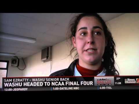 WashU Women's Soccer on Channel 5