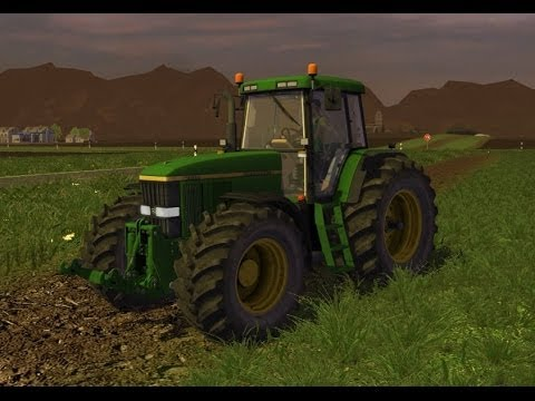 JOHN DEERE 7810 + New wheels