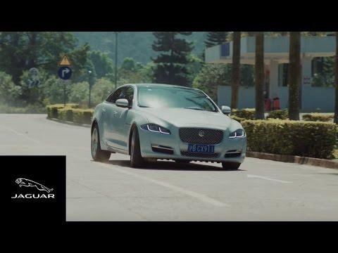 DJI Inspire 1 Pro versus Jaguar XJ
