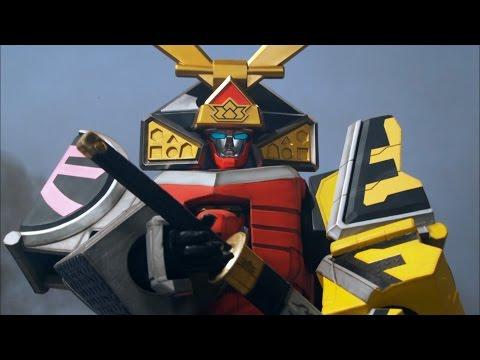 Samurai Megazord First Battle | Power Rangers Samurai Origins Part 2 | Power Rangers Official