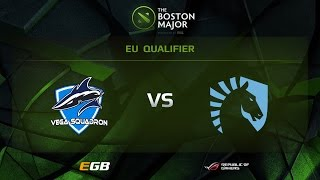 Liquid vs Vega, Boston Major EU Qualifiers