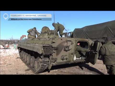 East Ukraine Frontlines: Russian-backed militants on the move near Debaltseve