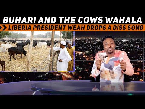 Missing Katsina students: Buhari shuns school to visit his cattle ranch (Pararan Mock News)