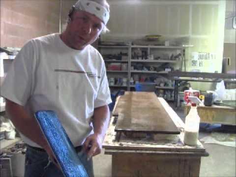 Sealing Concrete Countertops Using Acrylics