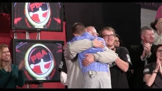 EJ Tackett Leaps into Fathers Arms After Winning World Championship