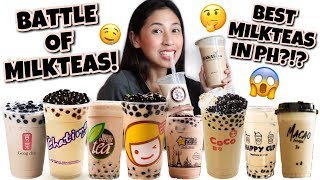 Video BATTLE OF THE BEST MILKTEAS IN THE PHILIPPINES! MP3, 3GP, MP4, WEBM, AVI, FLV April 2019