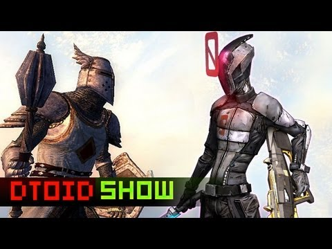 Elder Scrolls MMO, Borderlands 2 PC Perks, Baldur's Gate, and DOA5's Jiggle Physics!