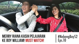 Video Merry Riana kasih pelajaran ke Boy William! MUST WATCH! - #NebengBoy S2 Eps. 10 MP3, 3GP, MP4, WEBM, AVI, FLV Januari 2019