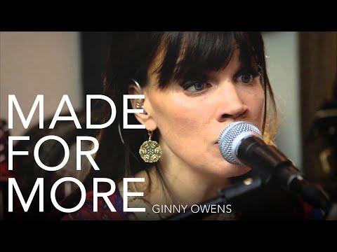 Ginny Owens- Made for More (LIVE)