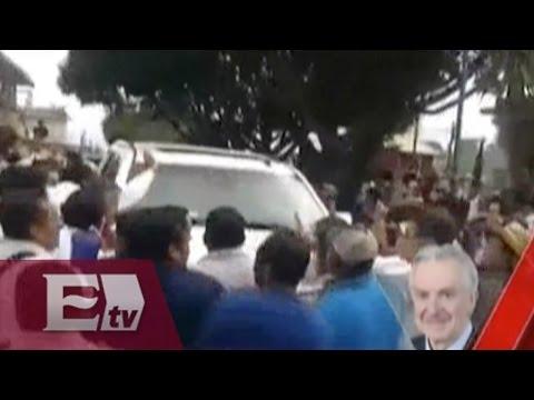Santiago Creel y las agresiones sufridas en Veracruz
