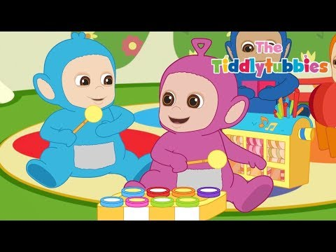 Dibujos de amor - Teletubbies  NUEVOS Dibujos Animados de Tiddlytubbies  Ep 2: cajita musical  Dibujos para Niños