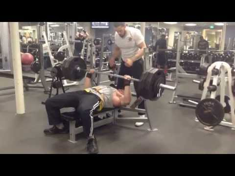 430lb for 2 paused bench. New personal record.