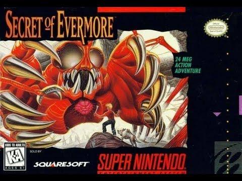 Secret of Evermore Super Nintendo
